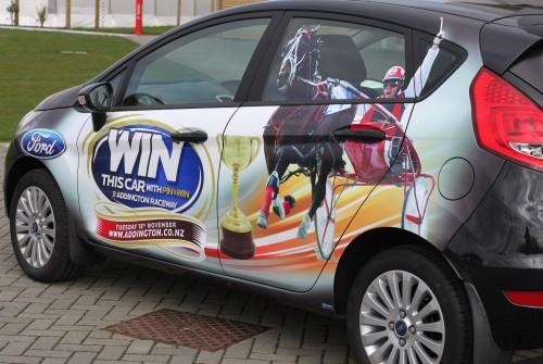Cup Week Car